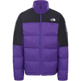 The North Face Diablo Down Jacket Men, peak purple/TNF black